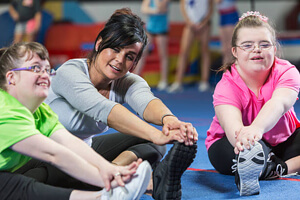 special needs and caregiver exercise