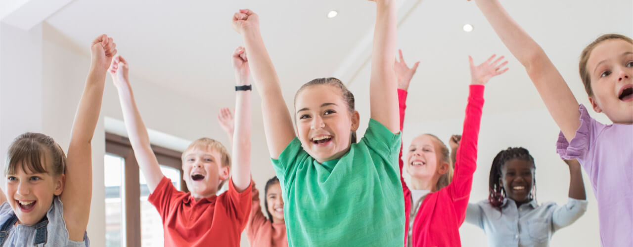 kids group exercise Fitness for Health